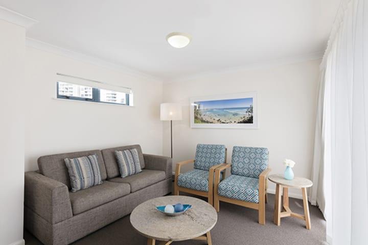 Oaks Calypso Plaza 2 Bedroom Ocean Premier Living at Coolangatta, Gold Coast