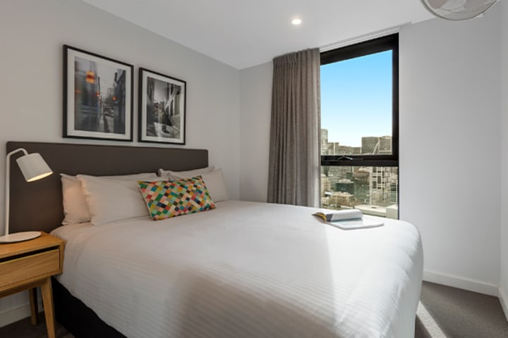 Oaks Melbourne Southbank Suites 2 Bedroom View
