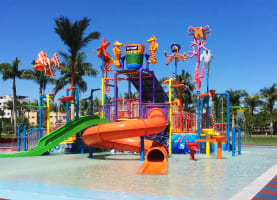 One of the Sunshine Coast's favourite family-friendly resort destinations, Oaks Oasis, is tipped as the hottest place to stay this summer, unveiling its new-look water play park for guests and announcing plans to complete a brand new outdoor Adventure Zone in the coming months just in time for Christmas.