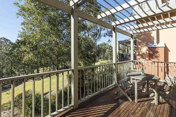 Oaks Cypress Lakes Resort 2 Bedroom Villa Balcony