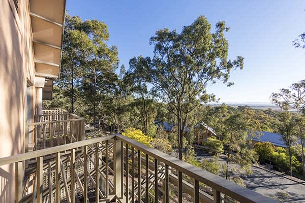 Oaks Cypress Lakes Resort 3 Bedroom Villa Balcony