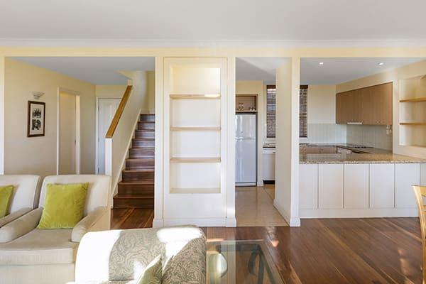 Oaks Cypress Lakes Resort 3 Bedroom Villa Living