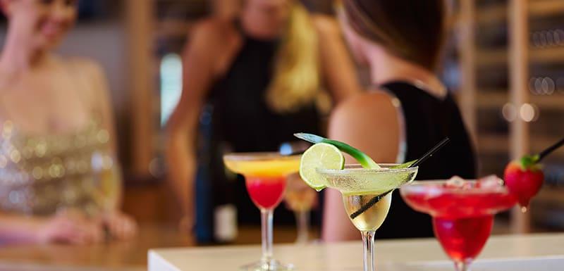 cocktails at Bodega Bar oaks cypress lakes hunter valley