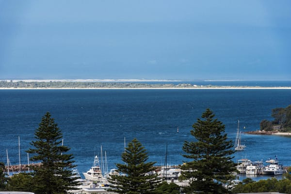 hotel with beautiful view of ocean in port stephens new south wales