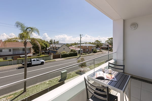 Oaks Lure 2 Bedroom Premier Balcony Balcony