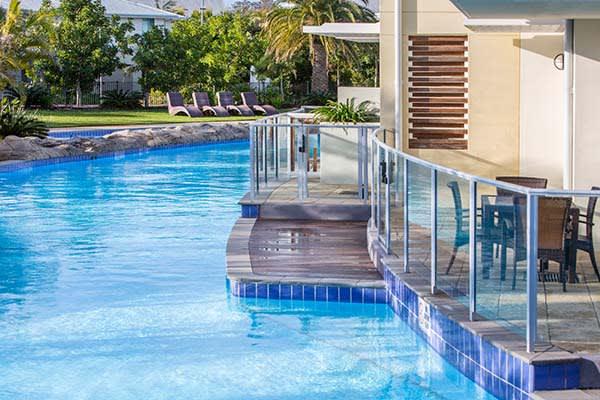 beautiful holiday resort near Newcastle NSW Oaks pacific blue accommodation