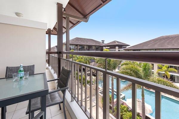 Oaks Santai Resort Casuarina 1 Bedroom Family Balcony