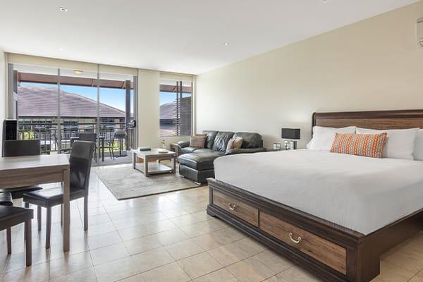Oaks Santai Resort Casuarina 1 Bedroom Family Bedroom
