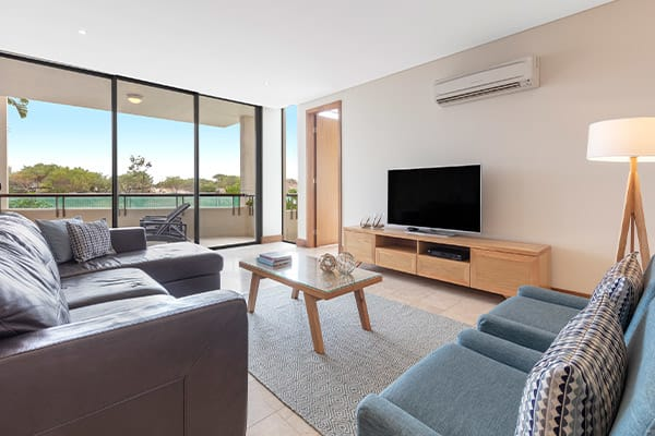 Oaks Santai Resort Casuarina Bedroom Executive Living Room