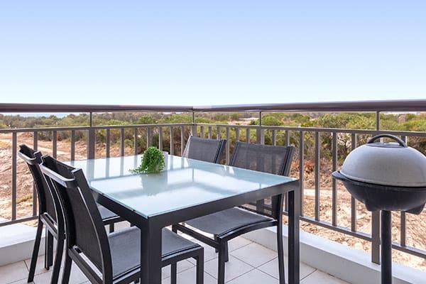 Oaks Santai Resort Casuarina 2 Bedroom Apartment Balcony