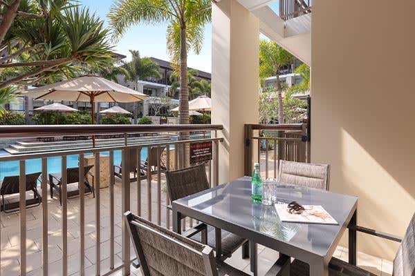 Oaks Santai Resort Casuarina Studio Pool Balcony