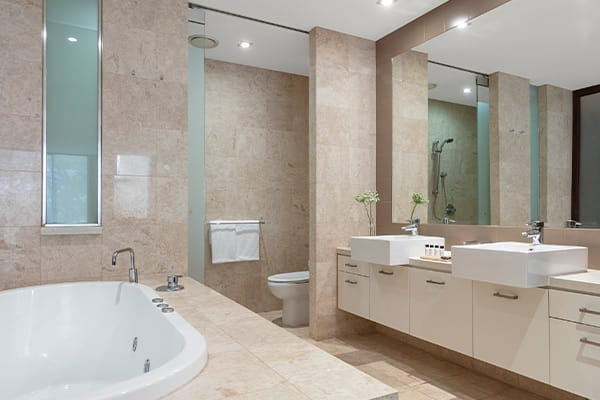 Oaks Santai Resort Casuarina Studio Pool Bathroom