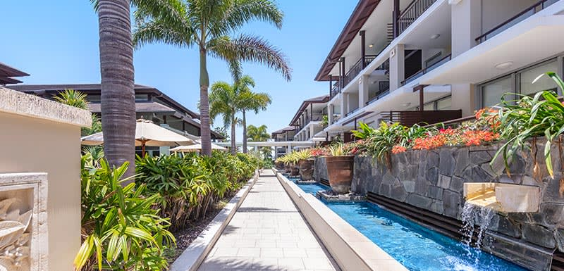 Oaks Santai Resort Casuarina Courtyard