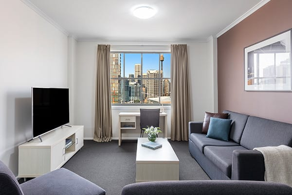 Oaks Sydney Goldsbrough Suites 2 Bedroom City Skyline Executive