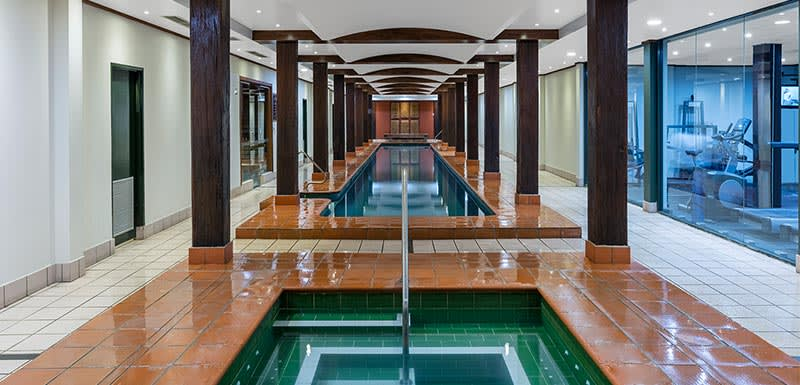 heated indoor pool and plunge pool at oaks goldsbrough darling harbour sydney hotel
