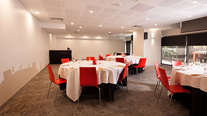 air conditioned meeting room available for hire at Oaks Elan Darwin hotel in Northern Territory, Australia