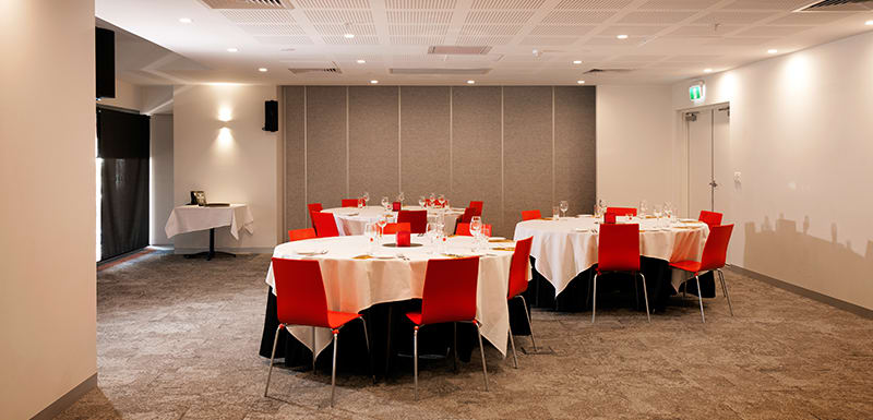 spacious, air conditioned events room for hire in Darwin, Northern Territory