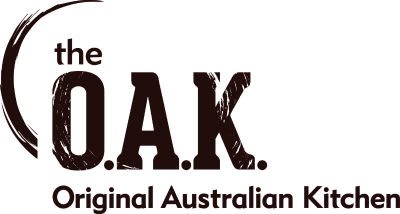 The Oak restaurant in Darwin, Australia logo