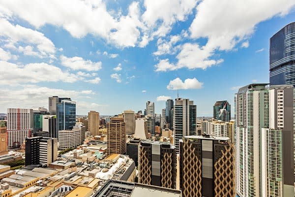 Oaks Brisbane Casino Tower Suites 1 Bedroom Apartment daylight city View