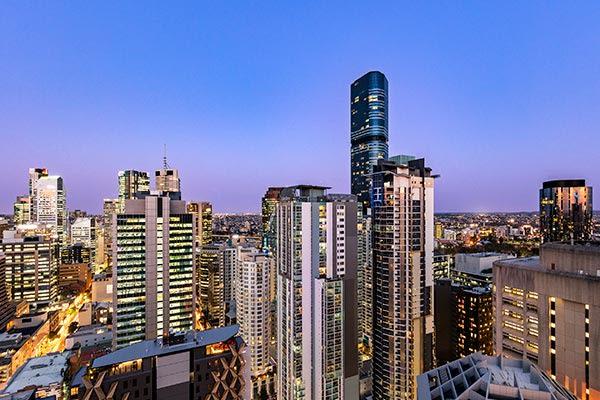 Oaks Brisbane Casino Tower Suites 3 Bedroom Apartment City View