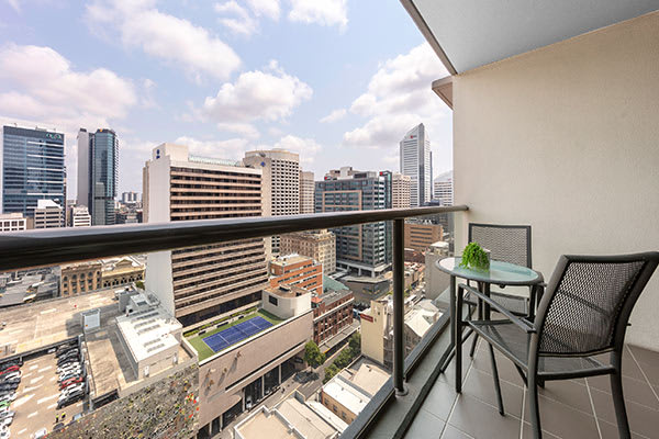 Oaks Brisbane on Charlotte Suites 1 Bedroom