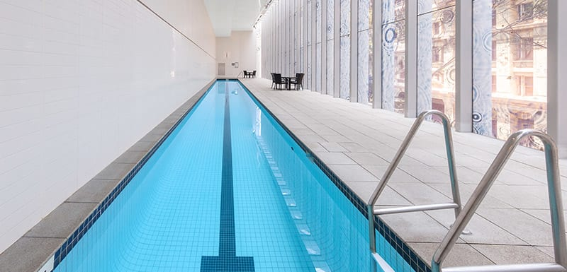 Oaks Brisbane on Charlotte Suites Swimming Pool Indoor