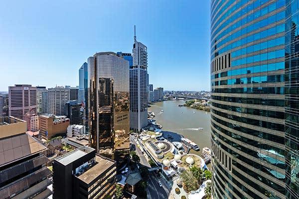 Oaks Brisbane Felix Suites 1 Bed Executive Brisbane City and River View