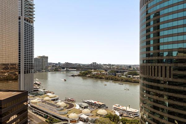Oaks Brisbane on Felix Suites 2 Bedroom Story Bridge View Brisbane River View