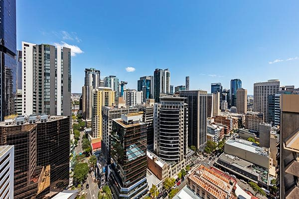 Oaks Brisbane Felix Suites 3 Bed Apartment Brisbane City View
