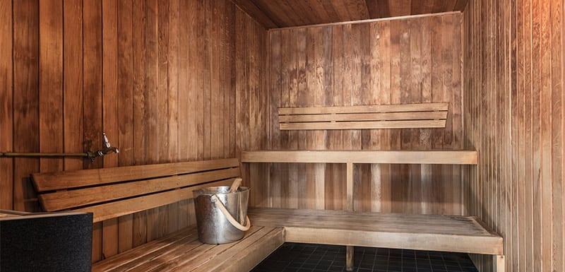 Oaks Brisbane Felix Suites Sauna