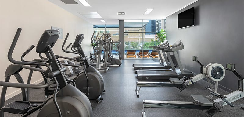 Oaks Brisbane Festival Suites Gym