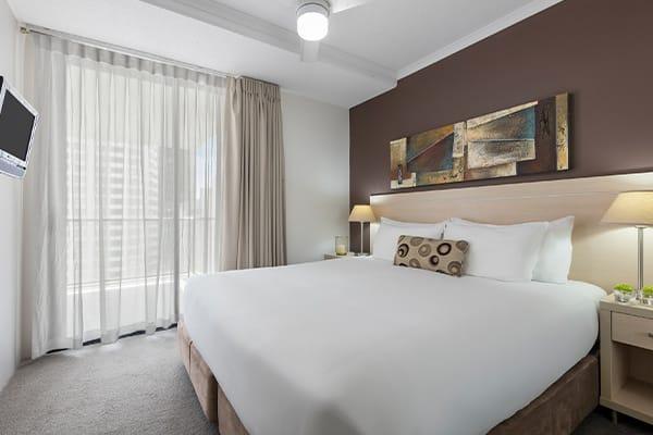 iStay River City one bedroom bedroom 1