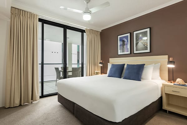 iStay River City two bedroom bedroom one 2