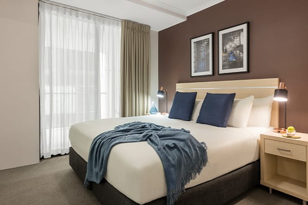 iStay River City two bedroom bedroom two 1