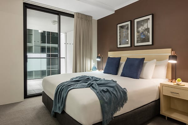 iStay River City two bedroom bedroom two 2