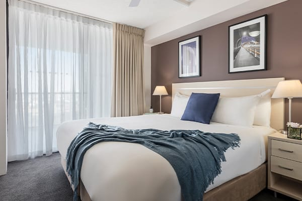 iStay River City two bedrooms river view bedroom two 2