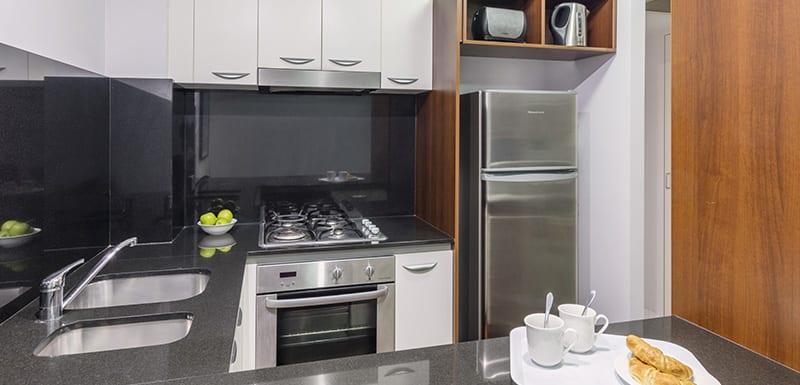 Oaks Lexicon 2 Bedroom Apartment Kitchen