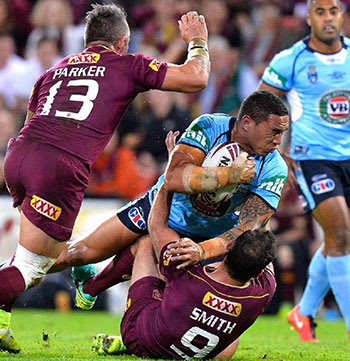state of origin game Suncorp Stadium 2016