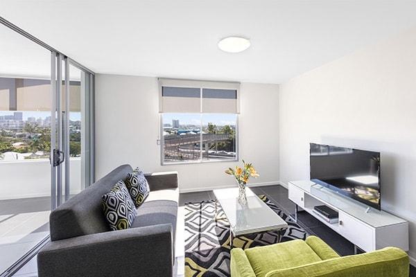 Oaks Brisbane Woolloongabba 2 Bedroom Executive Living