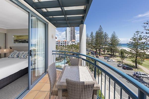Oaks Calypso Plaza 2 Bedroom Ocean Premier Balcony at Coolangatta, Gold Coast