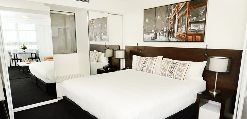 1 bedroom apartment with air conditioning and Wi-Fi near Gladstone Entertainment Centre with en suite bathroom
