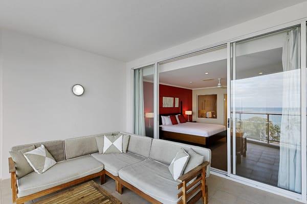 Oaks Hervey Bay Resort and Spa 3 Bedroom Penthouse Balcony