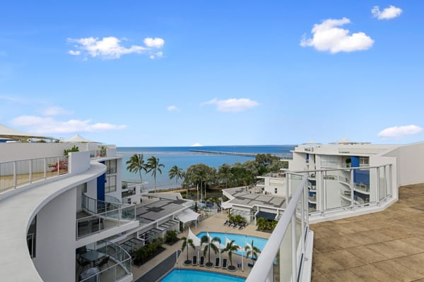 Oaks Hervey Bay Resort and Spa 3 Bedroom Penthouse View