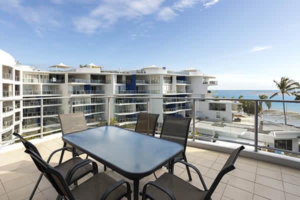 Oaks Resort Spa Hervey Bay 3 Bedroom Premier Ocean View Balcony