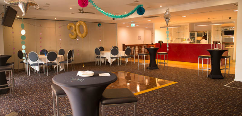 large birthday venue for hire in Townsville Queensland at Oaks Metropole Hotel