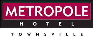 logo for Metropole Hotel restaurant in Townsville QLD