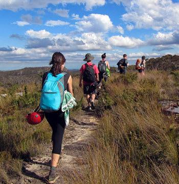 activities in Moranbah group bushwalking across Queensland outback