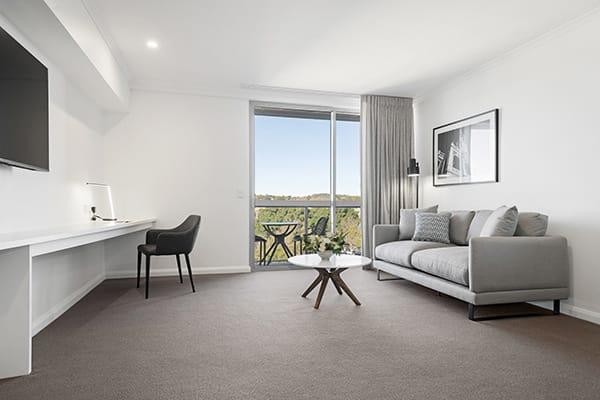 Oaks Toowoomba Hotel Hotel Executive Living Room