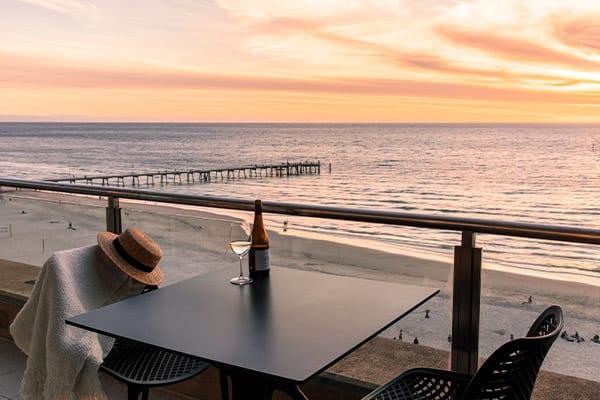 Oaks Glenelg Plaza Pier Suites 2 Bedroom Premier Ocean View Balcony