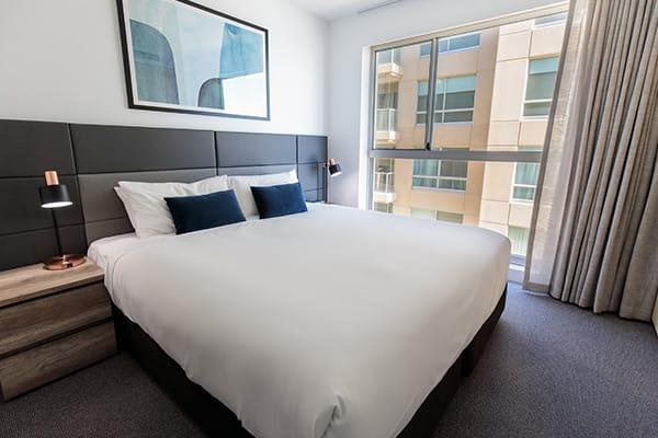 Oaks Glenelg Plaza Pier Suites 2 Bedroom Premier Ocean View Bedroom